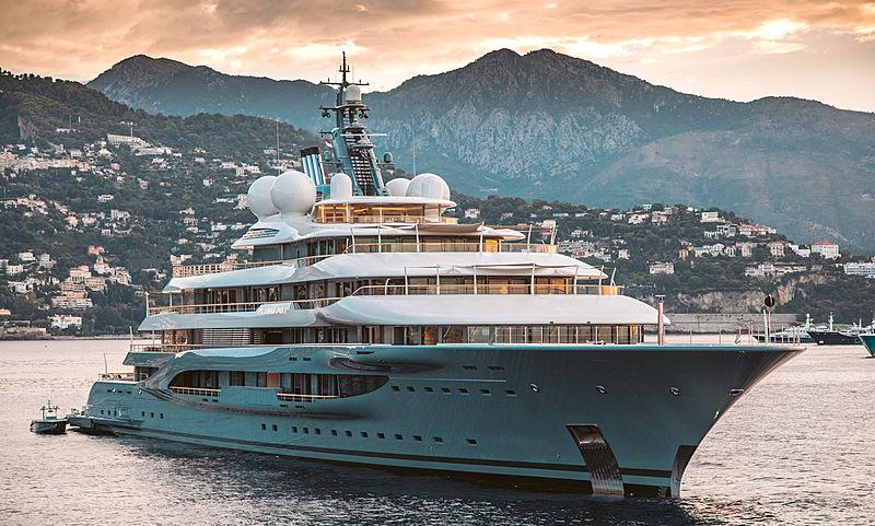 Flying Fox yacht by Lürssen in Monaco
