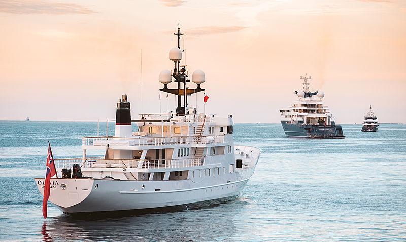 Olivia yacht in Monaco