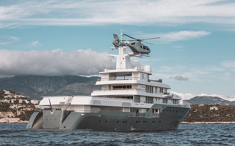 Planet Nine yacht in Monaco