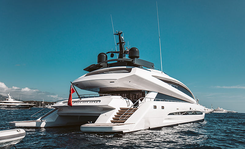Royal Falcon One yacht in Monaco
