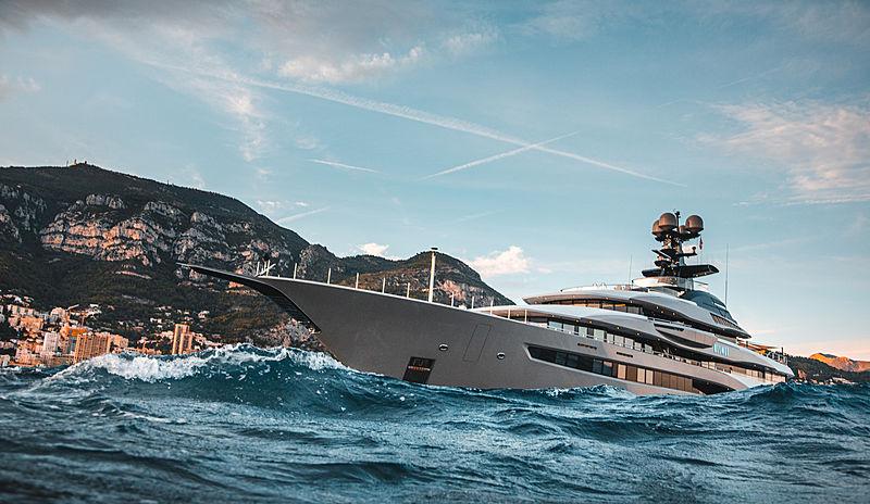 Kismet yacht by Lürssen in Monaco
