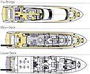 Canados 110 Y42 yacht deck