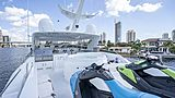Anthem yacht top deck & jet skis
