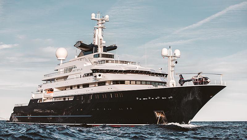 Octopus yacht by Lürssen in Monaco