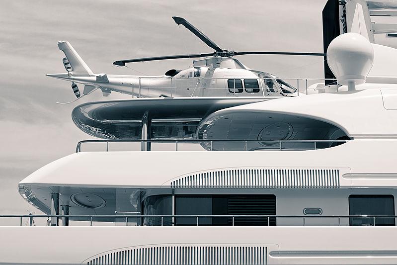 Helicoper onboard