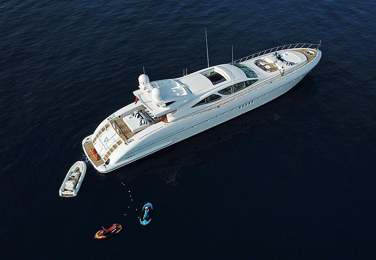 Veni Vidi Vici yacht aerial