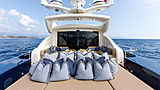 Cheeky Tiger yacht aft deck