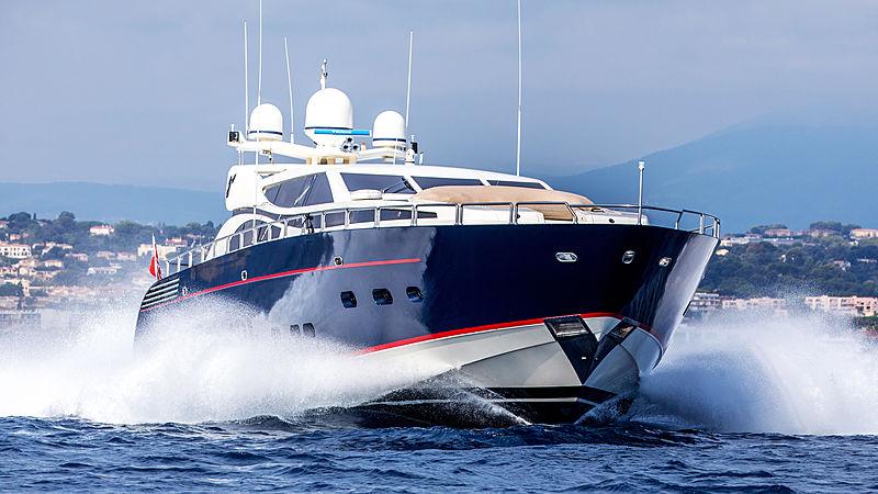 Cheeky Tiger yacht cruising