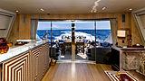Cheeky Tiger yacht saloon