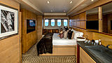 Cheeky Tiger yacht stateroom