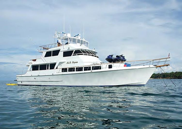 MS B HEAVEN yacht Knight & Carver