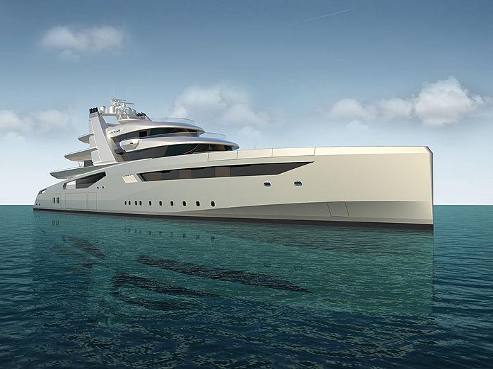 Diva yacht concept by Lloyd Werft exterior design