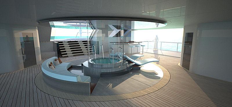 Diva yacht concept by Lloyd Werft interior design