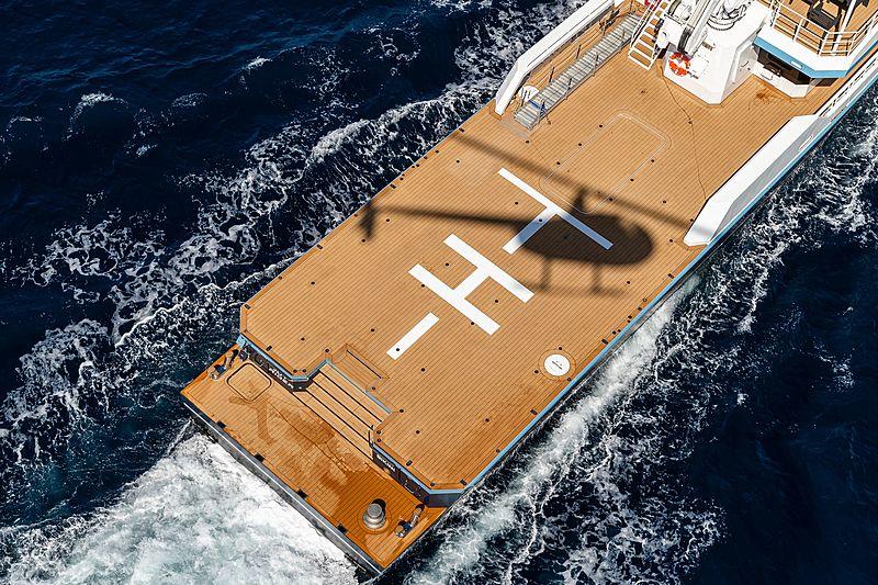 Joy Rider yacht exterior