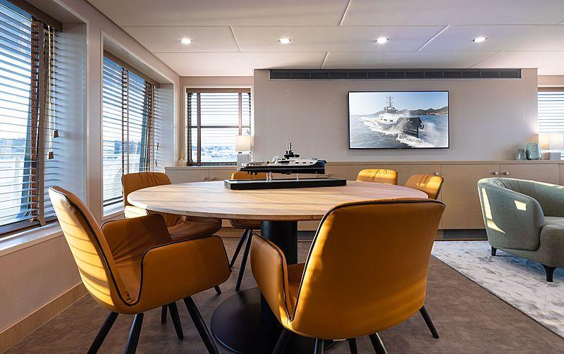 Joy Rider yacht interior