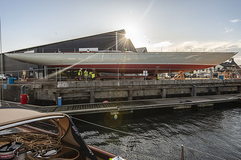 Spirit 111 yacht launch