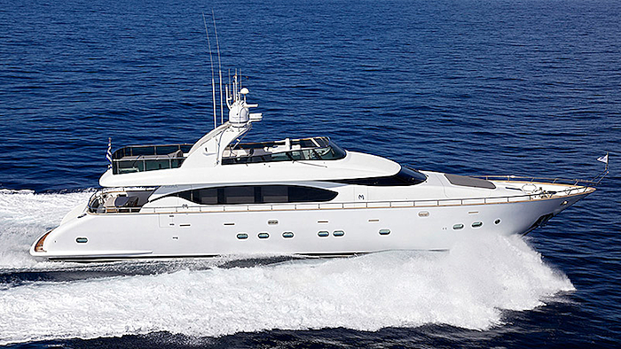 Cudu yacht cruising