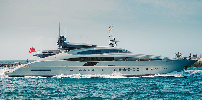Grey Matters yacht by Palmer Johnson in Port Everglades