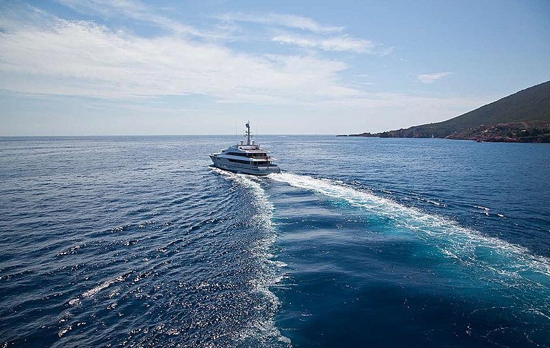 Rahil yacht cruising