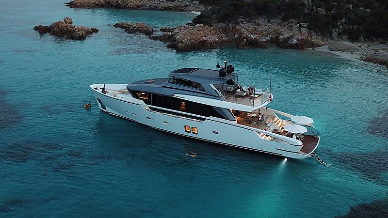 OZONE yacht Sanlorenzo