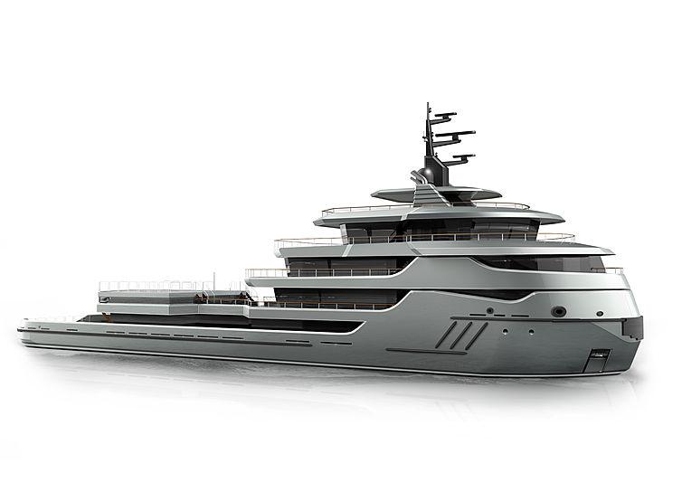 Ragnar yacht exterior design