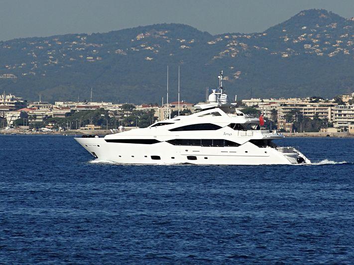 ANYA yacht Sunseeker