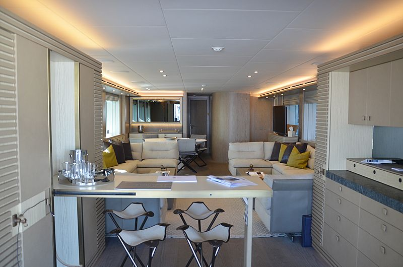 Babbo yacht interior