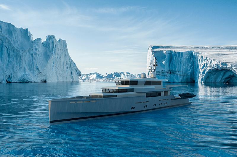 MMX45 yacht concept by Malcom Mckeon