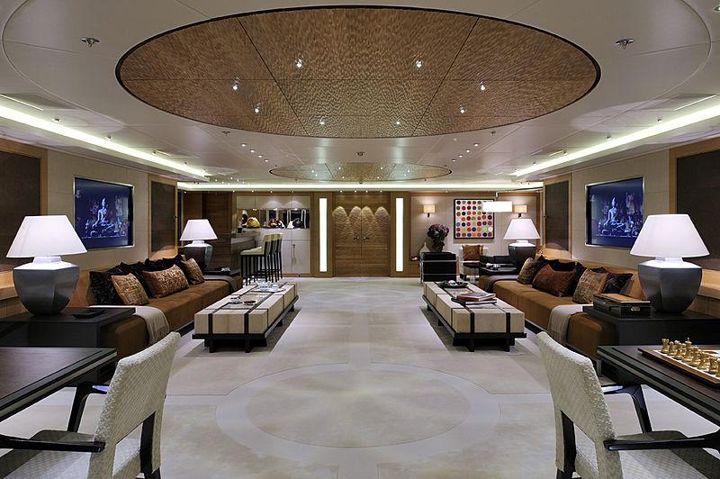 Arkley yacht saloon