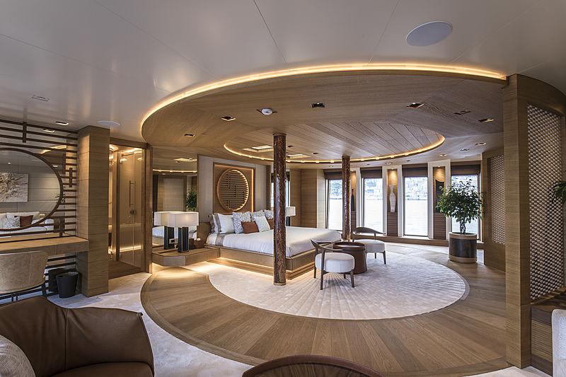 Life Saga yacht owner's stateroom