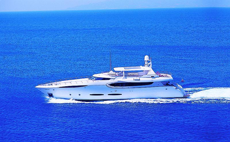 Phoenix yacht cruising