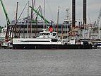 No Destination support vessel in Amsterdam Marina