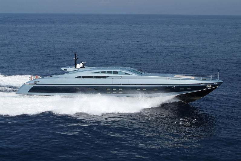 BLUE PRINCESS STAR yacht Baglietto