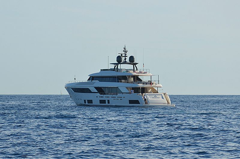 Frangelo yacht anchored off Cannes