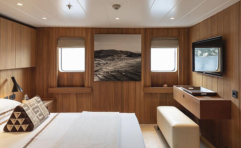 Olivia yacht stateroom