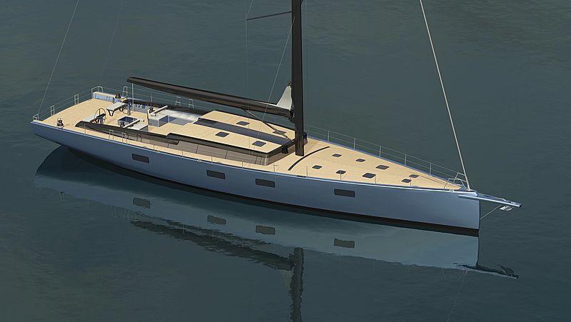 Tripp 90 yacht rendering