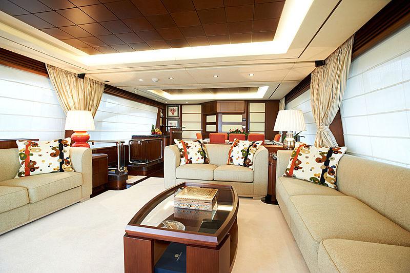 Jester yacht saloon