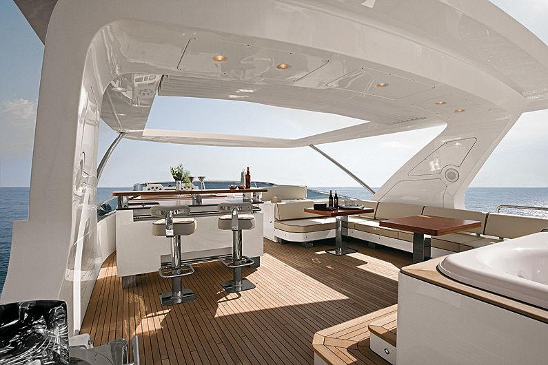 Jester yacht sundeck