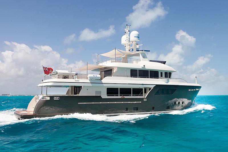 Acala yacht cruising