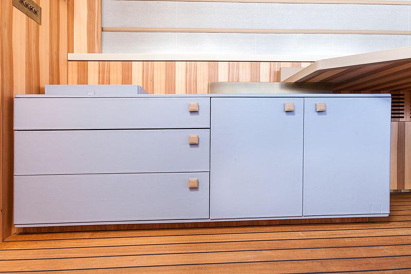 Acala yacht cabinet