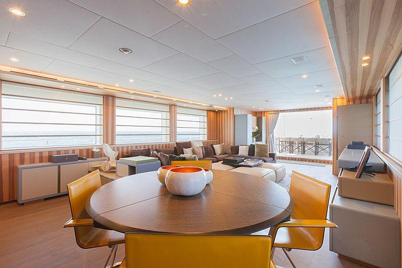Acala yacht interior