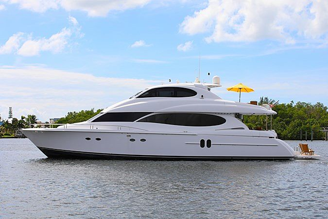 MELVINVILLE III yacht Lazzara