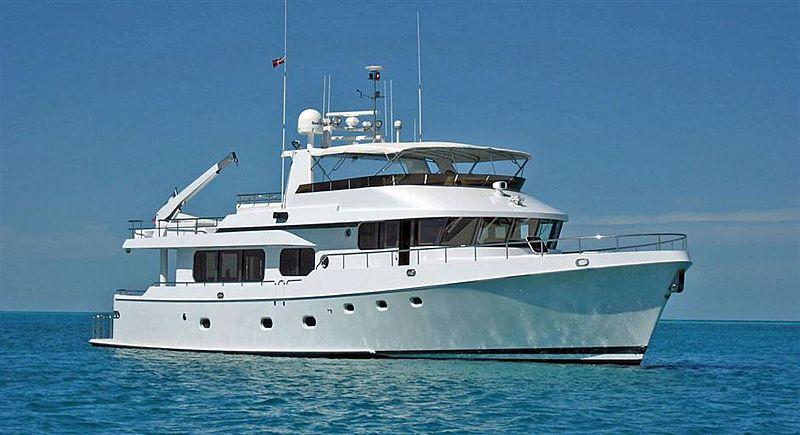 MOON DANCER yacht McQueen's Boat Works