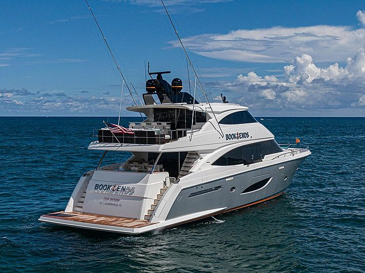 Book Ends yacht cruising