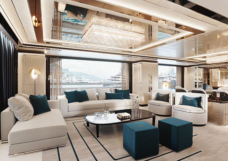 Dynamiq GTT 135 yacht rendering