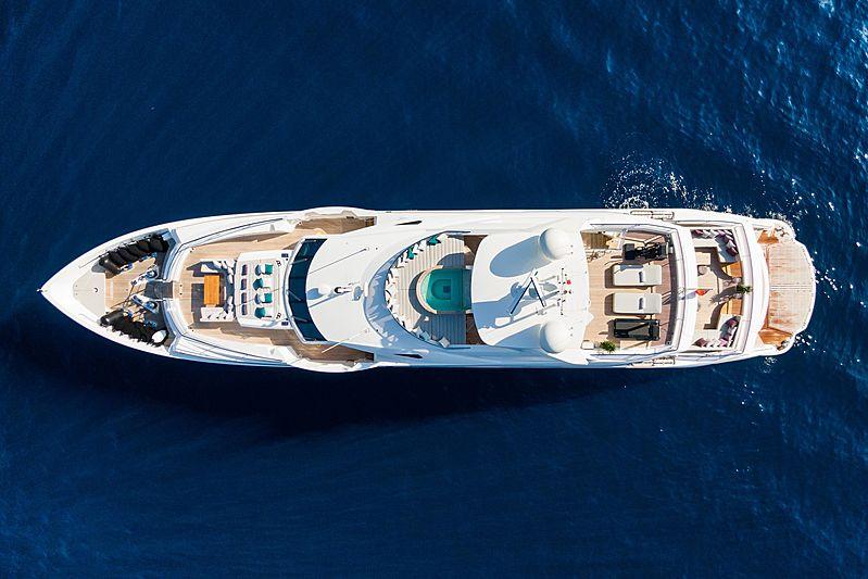 Angelus yacht aerial