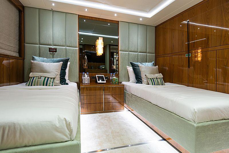 Angelus yacht stateroom