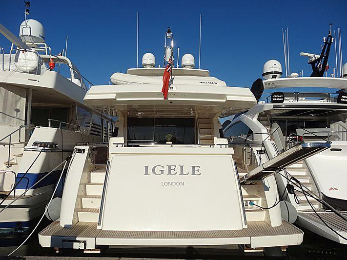 IGELE yacht Ferretti Yachts