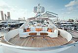 Alegria yacht sundeck