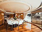 Alegria yacht dining table